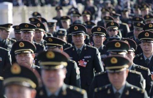 Tướng Trung Quốc xấu hổ và sợ hãi vì nạn tham nhũng trong quân đội