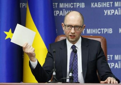 Tình hình Ukraine: Thủ tướng Ukraine tuyên bố Kiev sẽ không thỏa thuận trực tiếp với lực lượng ly khai