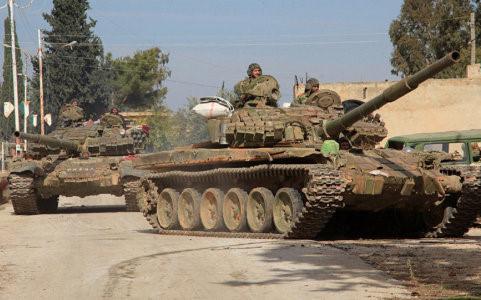 tin tức về tình hình chiến sự Syria mới nhất ngày 22/2/2016 cho biết Syria bao vây tiêu diệt hàng chục tay súng IS