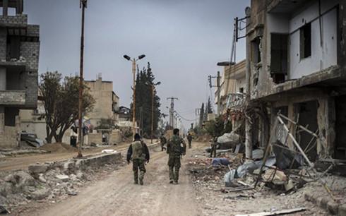 Quân đội Syria mở chiến dịch đặc biệt tiêu diệt 30 chiến binh là tin tức về tình hình chiến sự Syria mới nhất ngày 23/12/2015