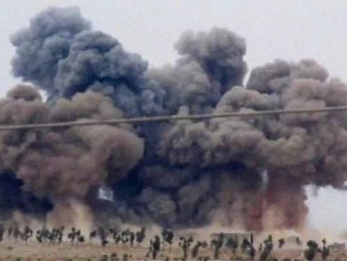 Tình hình chiến sự Syria mới nhất ngày 24/12/2015 đưa tin 200 thường dân Syria thiệt mạng do không kích của Nga