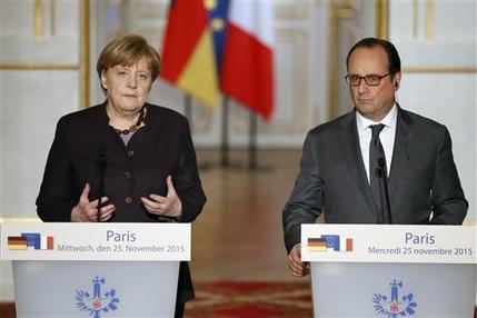 Pháp ủng hộ kéo dài chiến dịch không kích tại Syria là tin tức về tình hình chiến sự Syria mới nhất ngày 27/11/2015