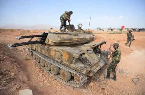 tin tức về tình hình chiến sự Syria mới nhất cho biết quân đội Syria chiếm thêm lãnh thổ từ IS tại Aleppo