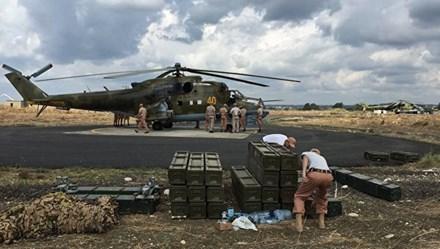 Tình hình chiến sự Syria mới nhất ngày 29/3/2016 cho thấy Nga rút thêm 3 trực thăng khỏi chiến trường Syria