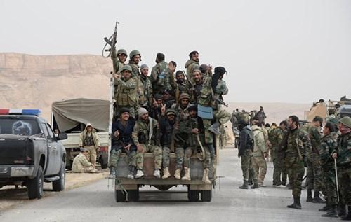 Binh sĩ Syria thừa thắng Palmyra tiến về phía bắc Latakia là tin tức về tình hình chiến sự Syria mới nhất ngày 29/3/2016
