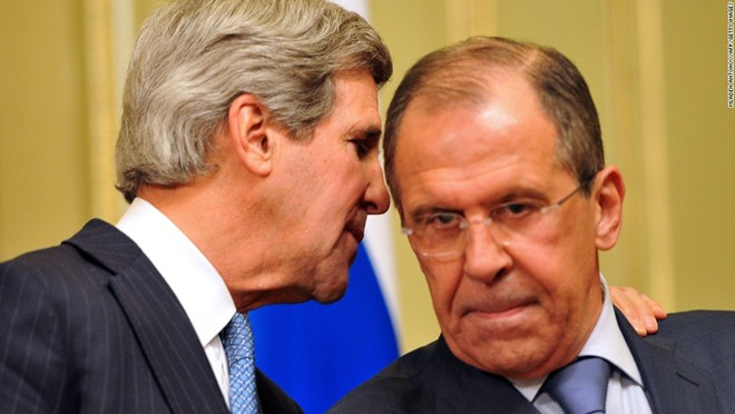 Ngoại trưởng Mỹ và Nga điện đàm về xung đột Syria là tin tức về tình hình chiến sự Syria mới nhất ngày 26/10/2015