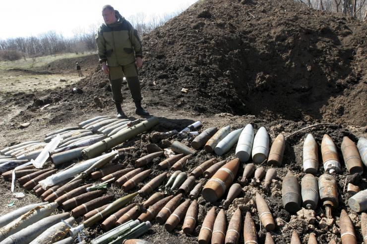 Tình hình Ukraine mới nhất: Nga bị cáo buộc cung cấp vũ khí quân sự cho phe ly khai ở miền Đông Ukraine