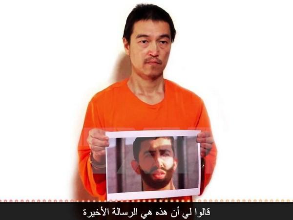 Đoạn video mới nhất về con tin Nhật bị khủng bố IS bắt giữ xuất hiện trên mạng