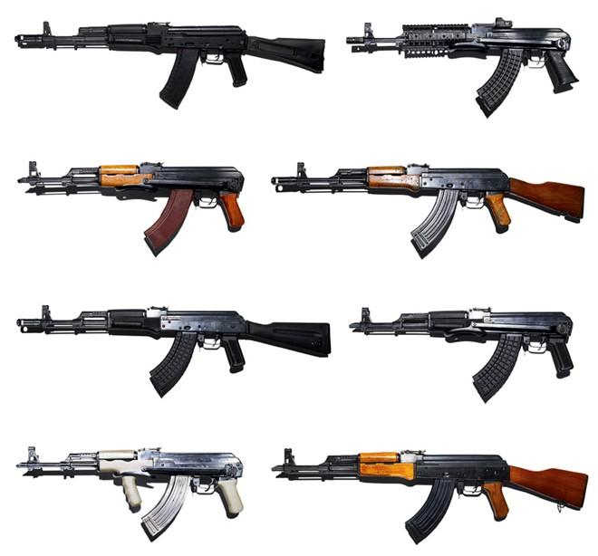 Vũ khí quân sự bộ binh súng trường tấn công AK-47