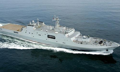 Tàu đổ bộ Type 071 được coi là vũ khí quân sự hàng đầu của Trung Quốc nhờ hệ thống trang bị khủng và khả năng chống ngư lôi cao cấp