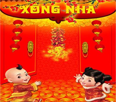 Xông nhà đầu năm là một trong những phong tục ngày Tết quan trọng ở Việt Nam