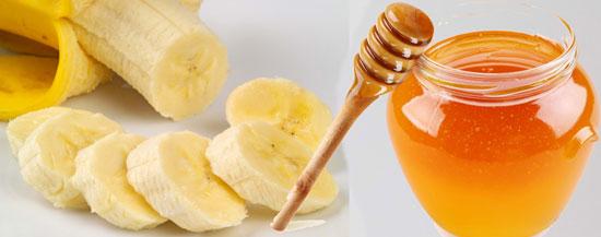 Bổ sung chất dưỡng ẩm cho tóc nhờ sự kết hợp hoàn hảo giữa mật ong và chuối