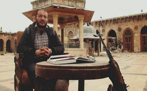 Zaher al-Shirqat, một nhà báo Syria bị IS hành quyết