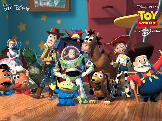 Toy story được bình chọn là bộ phim hoạt hình hay nhất mọi thời đại