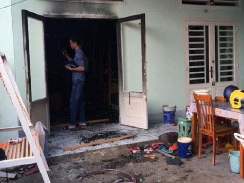 Cận cảnh hiện trường vụ cháy nhà làm 4 người trong một gia đình tử vong
