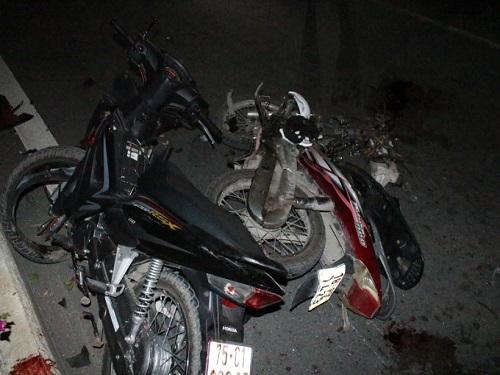 tai nạn giao thông ngày 24/3: Ông bị xe tải cán tử vong khi chở cháu đi học về