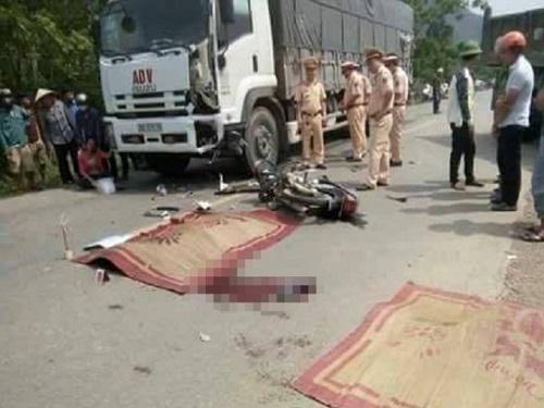 tai nạn giao thông ngày 27/4: Ông bà tử vong, cháu nguy kịch trên đường đi ăn giỗ