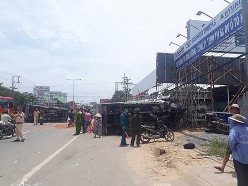 tai nạn giao thông mới nhất 24h qua ngày 19/9/2017