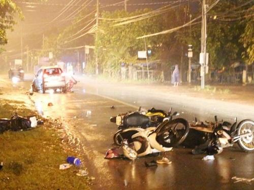 tai nạn giao thông mới nhất 24h qua ngày 19/10/2017