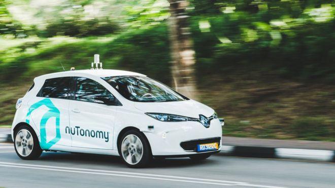 Taxi tự lái đầu tiên đã xuất hiện trên thị trường