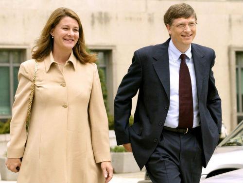 Vợ chồng tỷ phú Bill Gates. Ảnh: Internet