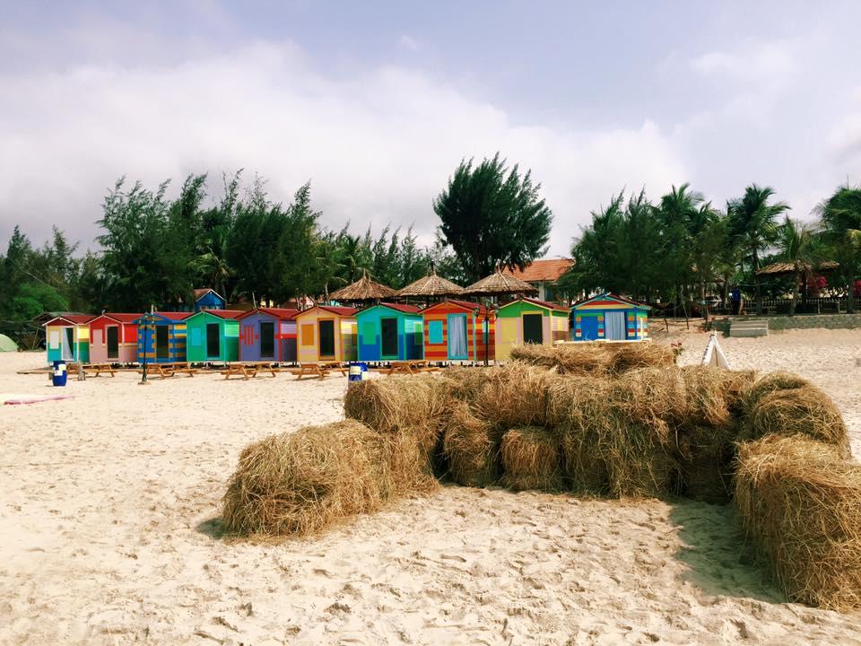 Lều gỗ với những trải nghiệm mới mẻ cho khách du lịch biển
