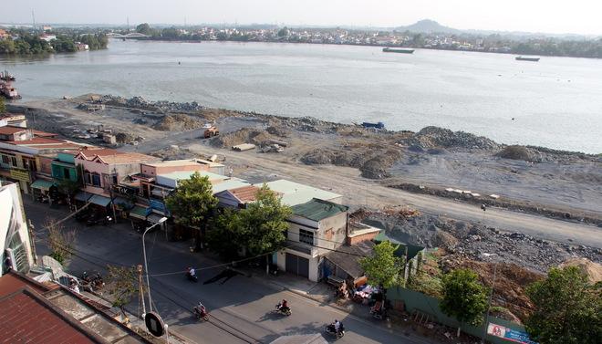 tạm dừng thi công dự án đô thị ven sông Đồng Nai