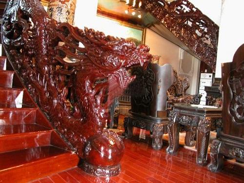 Nội thất trong những căn biệt thự của đại gia đất Cảng vô cùng ấn tượng và thuộc hàng quý hiếm