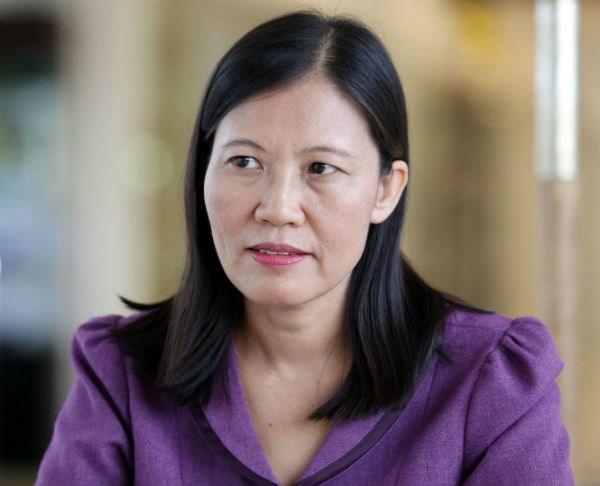 Đại biểu Lê Thị Nga - Phó Chủ nhiệm Ủy ban Tư pháp của Quốc hội