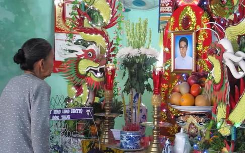 Lễ tang của em Đinh Thanh Thao
