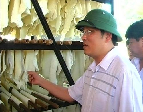 Ông Phan Đình Trạc cống hiến và để loại dấu ấn trong ngành nông nghiệp