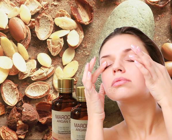 Tác dụng nổi bật của dầu argan là trị mụn