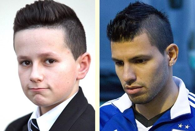 Cậu bé bị giáo viên phạt vì bắt chước kiểu tóc của cầu thủ bóng đá