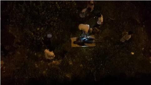 Hiện trường phát hiện thi thể nam thanh niên trôi sông Bàn Thạch, Quảng Nam