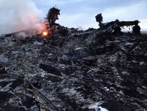 Máy bay Malaysia MH17 rơi ở Ukraine ngày 17/7/2014