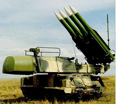 Hiện quân ly khai thân Nga đang bị cáo buộc đã dùng tên lửa bắn rơi máy bay Malaysia MH17
