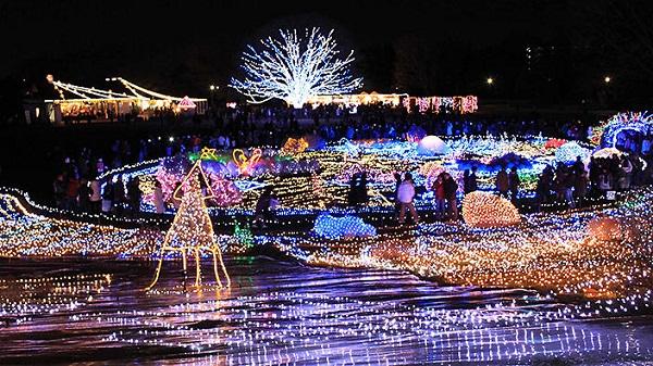 Thủ đô Tokyo đẹp nao lòng trong dịp lễ Giáng sinh
