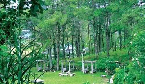 Baguio, cách thủ đô Manila 730km về phía bắc