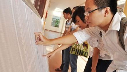 Công bố điểm chuẩn dự kiến hệ đại học 2015 của 126 trường