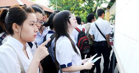 Điểm chuẩn đại học 2014 dự kiến được công bố vào 25/7