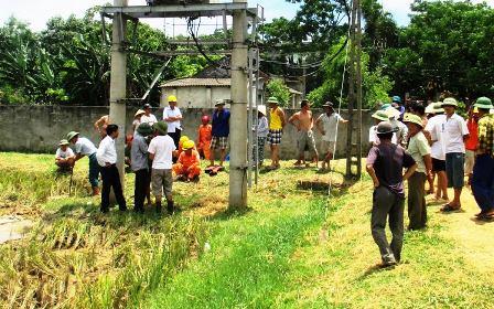 Điện giật trâu bò quanh khu vực trạm biến áp khiến nhiều hộ dân lo sợ