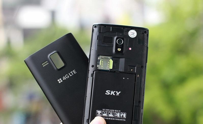 Pin điện thoại Sky A840 có thời lượng 2100 mAh