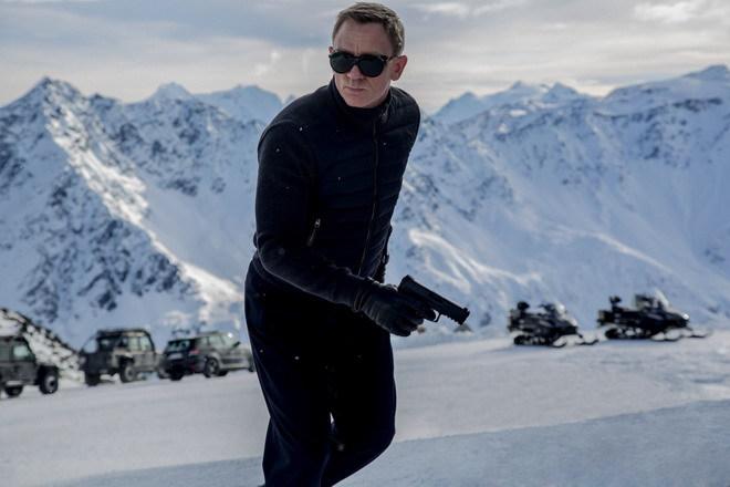 Những cảnh quay đầu tiên của bom tấn điệp viên 007 : Spectre được thực hiện ở vùng núi tuyết