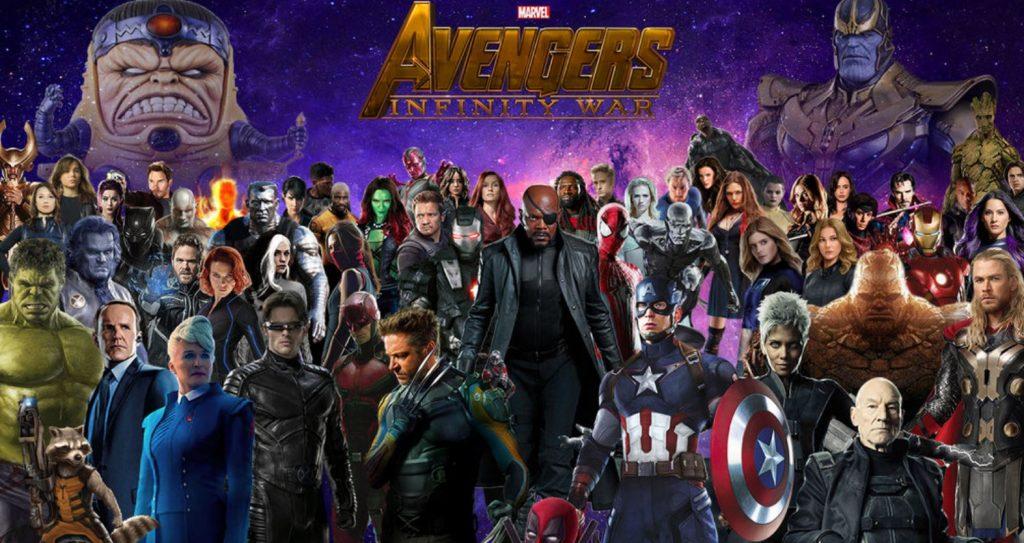 Bom tấn Avengers: Infinity War được quảng cáo sáng tạo trên báo giấy của Nhật