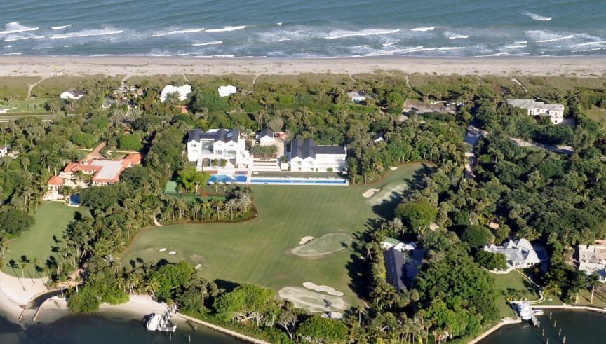 /ới thiết kế hiện đại, ngôi nhà của Tiger Wood quả không hổ danh là dinh thự đắt nhất làng thể thao