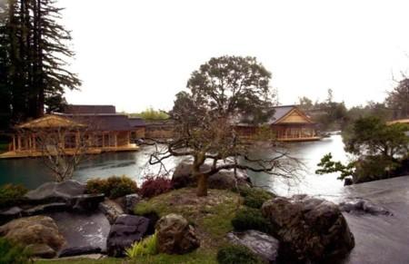 Dinh thự đắt tiền này được xây theo phong cách Nhật Bản