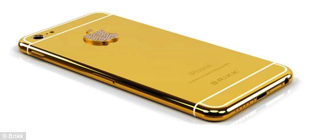 iPhone 6 gold mạ vàng, nạm kim cương có giá 170 triệu