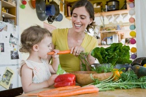 Chế độ dinh dưỡng phù hợp sẽ bổ sung canxi cho trẻ