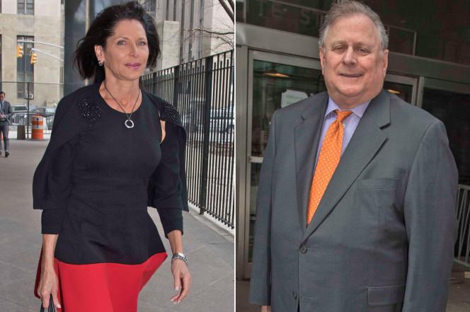 Tỷ phú Daniel Rosenblum và vợ Sheila. Ảnh: The New York Post