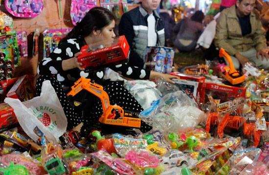 Thị trường đồ chơi trẻ em năm 2015 đìu hiu